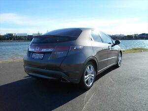 2011 Honda Civic 8th Gen MY11 SI Brown 5 Speed Automatic Hatchback Hamilton East Newcastle Area Preview