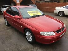 2002 Holden Commodore VX II Equipe Red 4 Speed Automatic Sedan Five Dock Canada Bay Area Preview