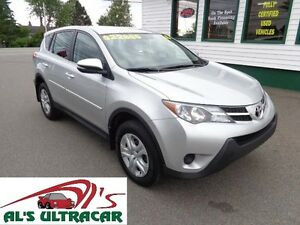2015 Toyota RAV4 LE 4x4 only $177 bi-weekly all in!