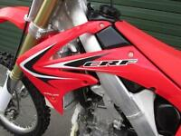HONDA CRF 250 R 2013 EFI MOTOCROSS MX BIKE