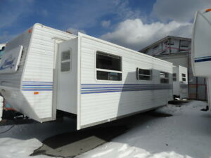 Rawdon Gold Mines - 2003 Nomad 40 Park Model Trailer