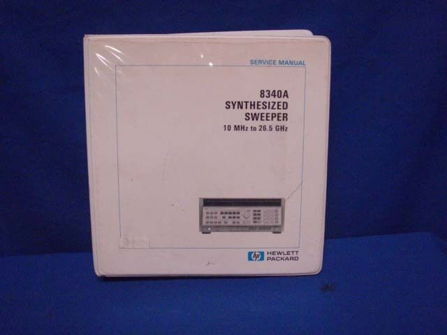 HP 8340A SYNTHESIZED SWEEPER SERVICE MANUAL VOL 4