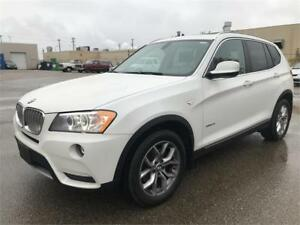 2013 BMW X3 xDrive28i *NAVI *PANO ROOF*LEATHER*bluetooth