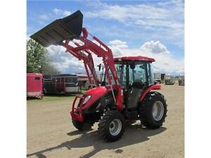 New TYM T454 - 46 HP Ranch Tractor w/Cab & Front Loader