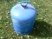 Butane gas bottle