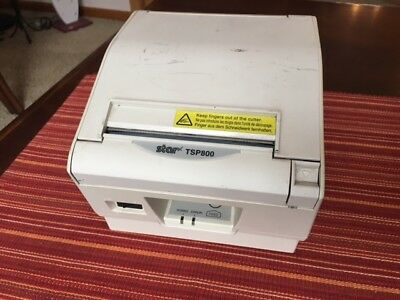 Star Micronics Thermal Printer Tsp800 No Power Supply Used