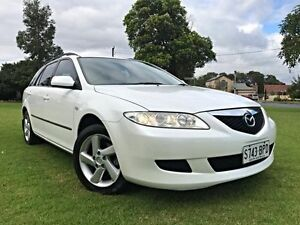 2004 Mazda 6 GY1031 MY04 Classic White 4 Speed Automatic Wagon Somerton Park Holdfast Bay Preview
