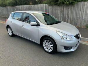 2014 Nissan Pulsar C12 ST Silver Continuous Variable Hatchback North Hobart Hobart City Preview