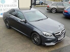 MERCEDES-BENZ E CLASS E220 CDI AMG SPORT 168BHP AUTO SALOON (FINANCE & W (grey) 2014