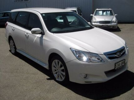 2010 Subaru Liberty B5 MY10 Exiga Lineartronic AWD Premium White 6 Speed Constant Variable Wagon Enfield Port Adelaide Area Preview