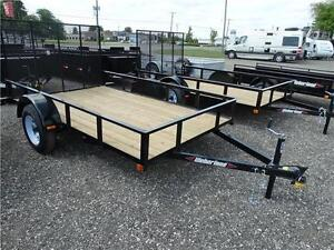 6x10 Utility Trailer: 36 mon. payment plan available! Kitchener / Waterloo Kitchener Area image 1