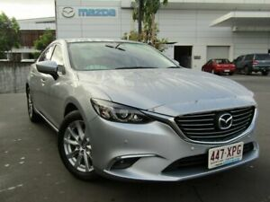 2017 Mazda 6 GL1031 Touring SKYACTIV-Drive Silver 6 Speed Sports Automatic Sedan Maroochydore Maroochydore Area Preview