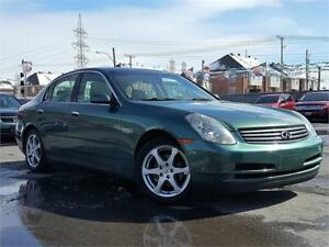 INFINITY G35 2003/AUTO/GROUP ELECT/CUIR/MAGS/TOIT/SUPER CLEAN!!!
