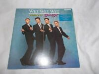 Vinyl LP Popped In Souled Out – Wet ,Wet, Wet Chrysalis JWWWL 1 Stereo 1987