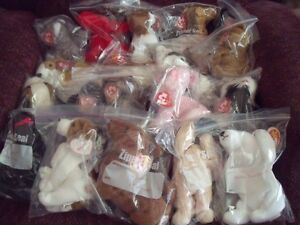 20 beanie babies - all retired dogs - see list