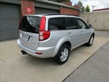2012 Great Wall X200 CC6461KY MY11 (4x4) Silver 6 Speed Manual Wagon Holden Hill Tea Tree Gully Area Preview