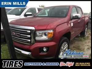2018 GMC Canyon 4WD SLT  - Leather Seats - Running Boards