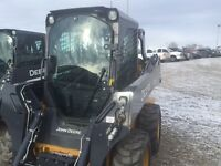 JOHN DEERE 318E SKID STEER DEMO AND CLEARANCE SALE
