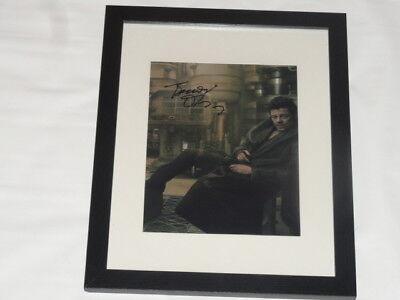 Benicio Del Toro Signed Framed And Matted 8X10 Photo Star Wars The Last Jedi