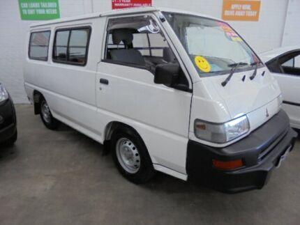 2004 Mitsubishi Express SJ M04 Window SWB White 5 Speed Manual Van Wangara Wanneroo Area Preview