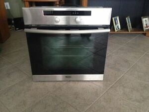 "Miele 24"" Built-In Wall Oven Stainless Brand New. 950$ OBO"