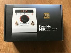 Eventide H9 Max Stompbox, brand new in sealed box. Online price is £579, grab a bargain.