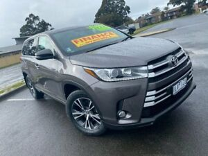 2017 Toyota Kluger GSU55R GX AWD Grey 8 Speed Sports Automatic Wagon Traralgon Latrobe Valley Preview