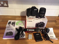 Canon Digital Camera EOS 500D with Zoom Lens EF-S18-55mm EXCELLENT CONDITION (1,574 Shutter Count)