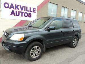 2005 Honda Pilot EX-L 7 PASSENGER LEATHER SUNROOF