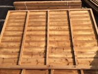 High Quality Fence Panels - Pressure Treated - Manufactured Onsite