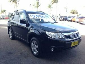 2008 Subaru Forester MY09 XS Black 5 Speed Manual Wagon Broadmeadow Newcastle Area Preview