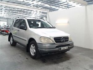2001 Mercedes-Benz ML W163 320 (4x4) Silver 5 Speed Auto Tipshift Wagon Beresfield Newcastle Area Preview