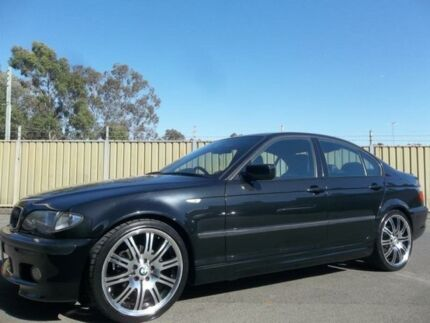2003 BMW 318I E46 Black 5 Speed Auto Steptronic Sedan