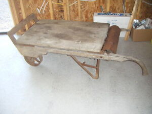 Antique Grain Scale Coffee Table