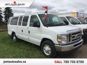 2012 Ford E-350 Super Duty XLT 15 Passenger Van! Great Condition