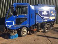 SCARAB MINOR ROAD SWEEPER, YEAR 2004. £4000 +VAT