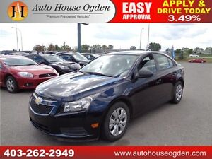 2014 Chevrolet Cruze 2LS EVERYONE APPROVED 90 DAYS NO PAYMENT!!!