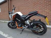 2015 KTM 125 DUKE 14 NEW TYRES + CHAIN AND SPROKET
