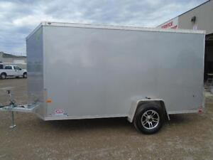 ALL ALUMINUM ENCLOSED 7X12' TRAILER -LIGHT WEIGHT, NO RUST ! London Ontario image 5