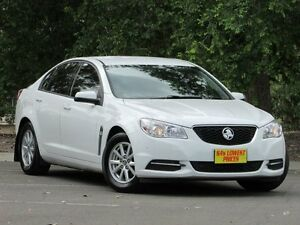 2013 Holden Commodore VF MY14 Evoke White 6 Speed Sports Automatic Sedan Blair Athol Port Adelaide Area Preview