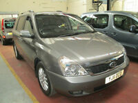 11 KIA SEDONA WHEELCHAIR ADAPTED DISABLED 50 + ADAPTED VEHICLES IN STOCK