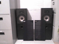 125W Mission Stereo Power Speakers - Heathrow