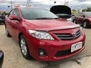 2012 Toyota Corolla ZRE152R MY11 Ascent Sport Red 4 Speed Automatic Sedan Maidstone Maribyrnong Area Preview