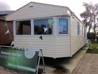 CHEAP STATIC CARAVAN TATTERSALL LAKE Nr SKEGNESS FISHING