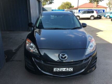 2011 Mazda 3 BL10F1 Neo Black Manual Hatchback