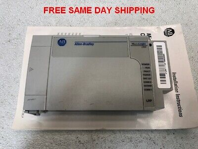 Allen Bradley Micrologix 1500 Processor 1754-lrp Series C Item 748272-o2
