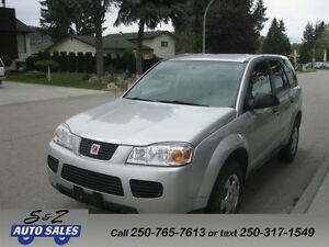 2006 Saturn Vue LOW KM! WITH SERVICE HISTORY!