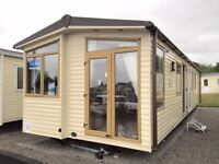 Quality static caravan for sale with front doors - Sundrum Castle, Ayrshire, Ayr, West Scotland
