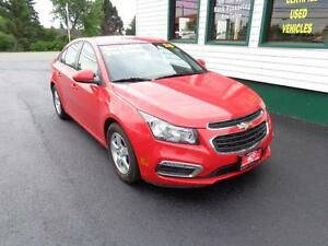 2015 Chevrolet Cruze 2LT(LEATHER!) for only $145 bi-weekly!