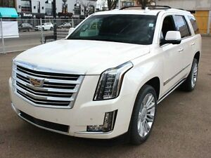 2015 Cadillac Escalade Platinum WHITE DIAMOND EVERY OPTION FINAN